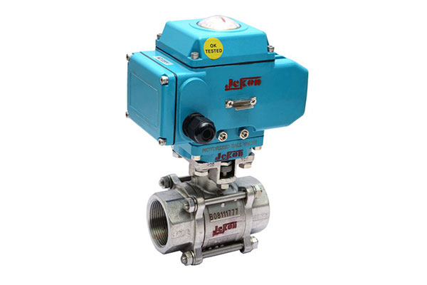 2 way 3 way electrical motorized operated ball valve